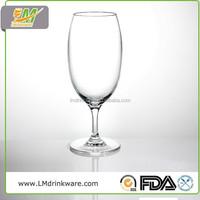 Cheap promotional luxurious pc plastic goblet cups