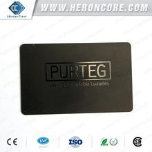 Best quality hot-sale branded gold pvc card with cmyk printing