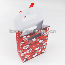 2014 custom design VELCRO colsed paper bags printing