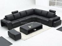 Leisure ikea furniture design lounge suites leather sofa comfort 104B