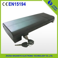 Factory price 36v 16ah battery for electric bike,SY-BAT-106