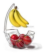 New Product Banana Hanger Metal Fruit Basket