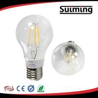 220v 4w e27 glass led filament bulb cob lamp