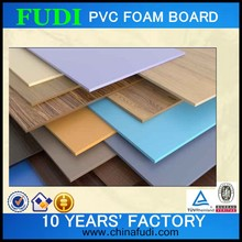 2015 new colored rigid pu foam board, pvc hard foam sheets
