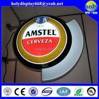 Round light boxes acrylic signage ,led signage aluminium profiles for light boxes