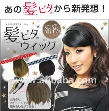 Velcro-style bangs Hair Extension