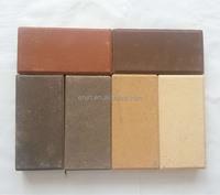 Thin red brick size, brick look ceramic tile