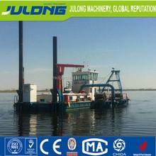 China hydraulic diesel power type river sand pumping dredger machine/cutter head dredger ship/sand mining equipment sale