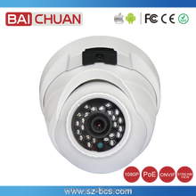 2MP Dual Stream IP Camera with Built-in PoE Embedded Mic