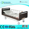 DW-BD186 medline semi electric hospital bed qualified manual nursing bed with two functions for medical equipment