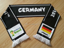 cheap polyester soccer Scarf for football fans for promotion and gifts GERMAN FASHION-22