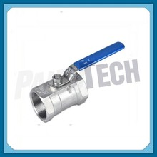 Light Type 1pc Stainless Steel Thread Quick Release Ball Valve dn40