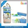 Encai Fashion Travel Hanging Toiletry Bag Wholesale Cosmetic Bag Lady's Makeup Organizer Bags