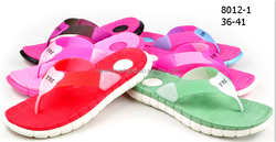 PVC Upper Material and Women Gender ladies flip flops slippers
