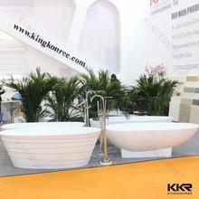 Canton Fair artificial stone bathtubs , composite resin bathtub