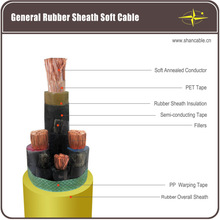 Rubber Sheath Cable/ Mining cable
