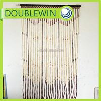 Custom bamboo beaded door curtain , bamboo curtain for door