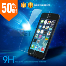 High Sensitive for iPhone 5 Tempered Glass Screen Protector, Factory Supplier