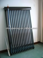 Solar water heater flat panel collector