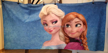 Frozen Movie printed towel