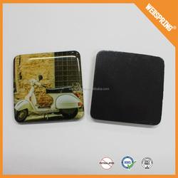 00-0012 Wholesale magnet fridge for magnet print promotional epoxy glass fridge magnet
