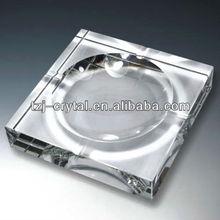 Wholesales Transparent K9 crystal ashtray, Engraved Ashtray, Promotional gifts