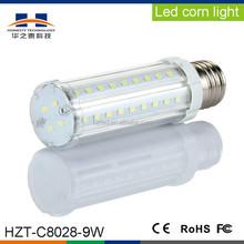 E27/E14 9W SMD5630 60pcs 720-810LM White low power LED corn light
