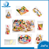 Safety Paper Items Girls Like Princess Party Kit