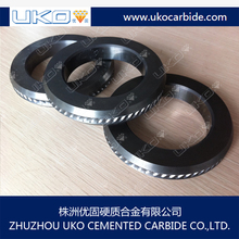 wire rolling cassette accesorries of tungsten carbide cold rolls for cold drawn smooth and ribbed wire