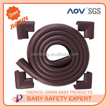 Baby safety NBR edge corner cushion furniture edge guard rubber bumper strip for baby care