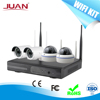 4CH Wireless Wifi NVR KIT Signal Range 300 Meters Across 4 Wall Support Outdoor