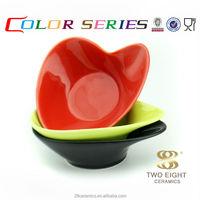 Wholesale household enamel ware, color popcorn bowl ceramic