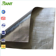 Hot Sales Factory Supplied double sided reflective aluminum foil insulation, foil faced fiberglass duct insulation