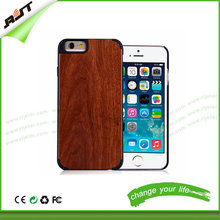 wooden mobile phone case for iphone 6, for iphone 6/6s bamboo cell phone case