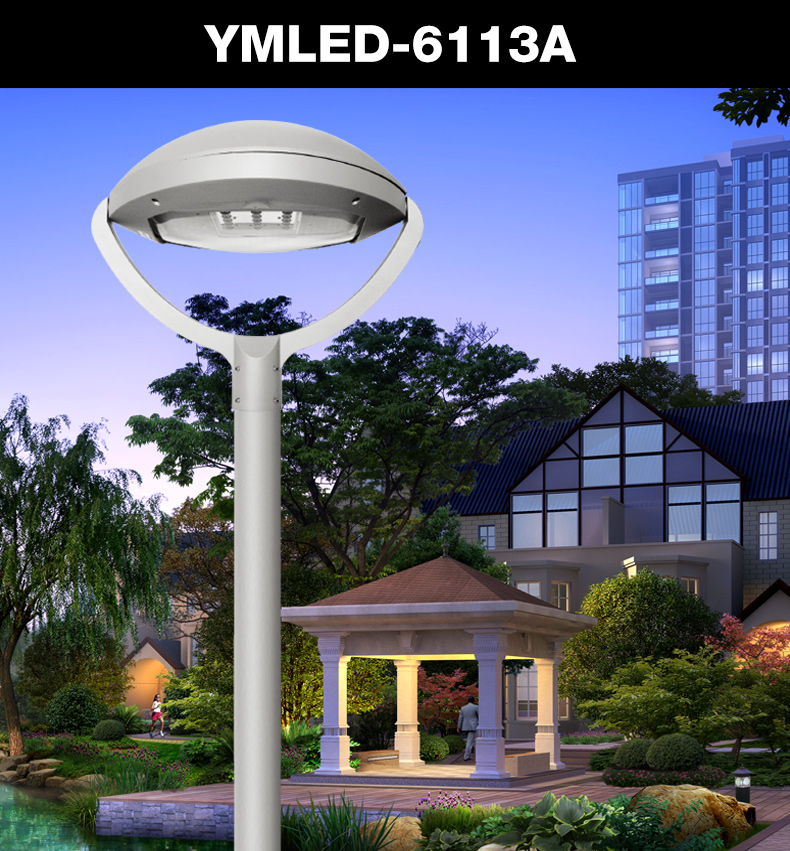 Garden squre urban road application AC220v 30w-55w led lantern light