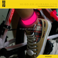 2014 new interesting products led slap bracelet for cycling