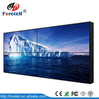 Floor stand lcd video wall narrow bezel 55 inch
