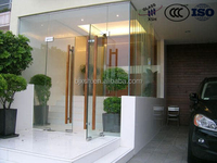 building glass, tempered building glass, heat reflective tempered building glass
