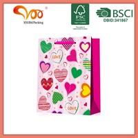 Yiwu Youbai CMYK/Pantone Color luxury Paper Gift Bag,Printed Paper Bag,Gift packaging Bag