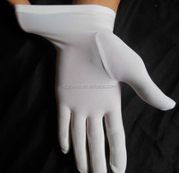 Spa Sister White Cotton Overnight Moisture Gloves