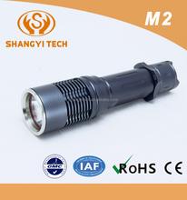 2015 cheap aluminum alloy high power tactical led torch flashlight