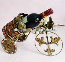 Most Popular Bar Counter Metal Single Wine Bottle Holder