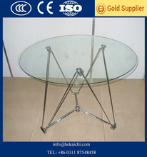 5mm 6mm 10mm beveled edge tempered glass table tops