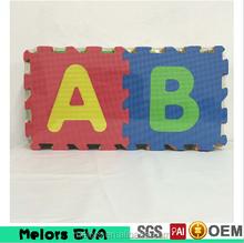 Melors babies play floor mat interlocking coloful EVA foam puzzle mats