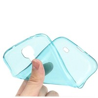 Simple Clear Crystal Soft Silicone Rubber TPU Back Cover Case For Samsung Galaxy S4 IV i9500