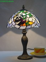 Animal design 10 inch tiffany style table lamp with panda from factory with best service