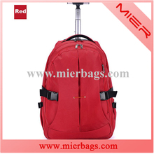 new arrival classical travel gear shoulder trolley backpack bag for girl or women