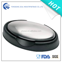 seafood stainless steel soap and case set