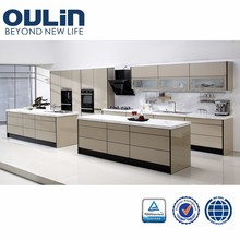 2015 Top quality modern and elegant handless kitchen set for sale