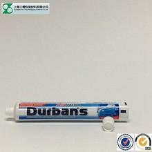 Empty aluminum laminated cream tube